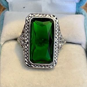 29.2 Carats Genuine Emerald Ring